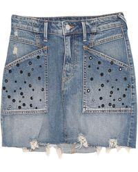 True Religion Denim Skirt - Blue