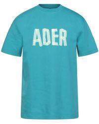 ADER error T-shirts - Blau