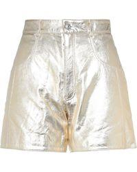 Manokhi Shorts & Bermuda Shorts - Metallic