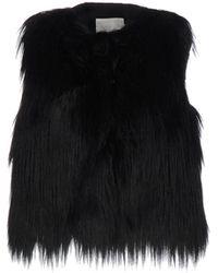 L'Autre Chose Faux Fur - Black