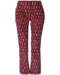 PT01 Casual Trousers - Red