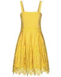 No Secrets Knee-length Dress - Yellow