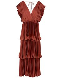 True Decadence Long Dress - Red
