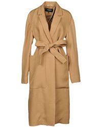 Rochas Overcoat - Natural