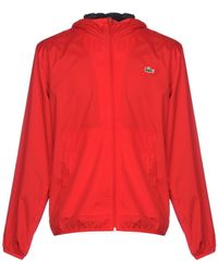 Lacoste Jacket - Red