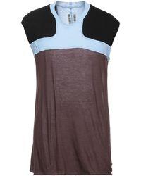 Rick Owens T-shirts - Mehrfarbig