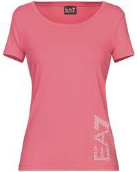 EA7 T-shirt - Pink