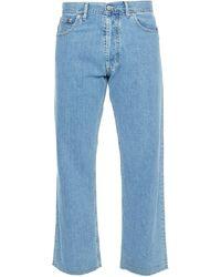 Maison Margiela Pantalon en jean - Bleu