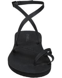 O'neill Sportswear Toe Strap Sandals - Black