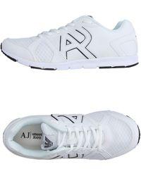 Armani Jeans Sneakers - Blanc