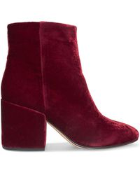 Sam Edelman Ankle Boots - Red