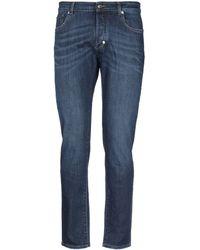 Versace Pantalon en jean - Bleu