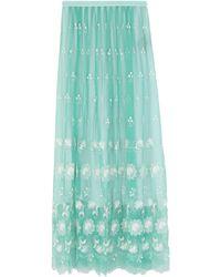 Burberry Long Skirt - Green