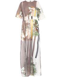 Manila Grace Long Dress - White