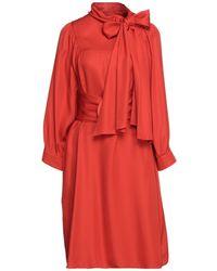 Giorgio Armani Midi Dress - Red