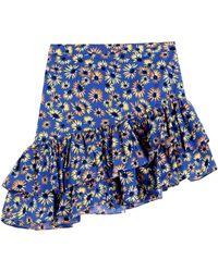 Glamorous Mini Skirt - Blue