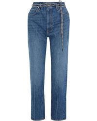 Proenza Schouler Denim Pants - Blue