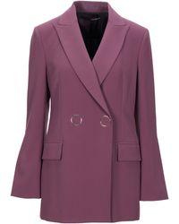 Annarita N. Suit Jacket - Purple