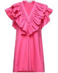 WEILI ZHENG Short Dress - Pink