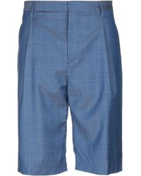 Band of Outsiders Bermuda Shorts - Blue