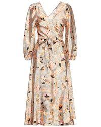 Second Female Midi Dress - Natural