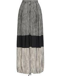 Masnada Long Skirt - Natural