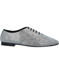 Saint Laurent Lace-up Shoes - Metallic