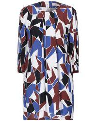 Annie P Short Dress - Brown