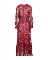 Isabel Marant Langes Kleid - Rot
