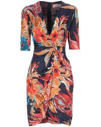 Twenty Easy By Kaos Midi Dress - Multicolour