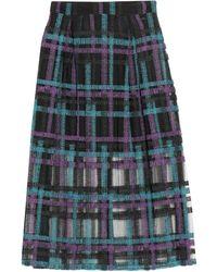 Armani Exchange 3/4 Length Skirt - Black