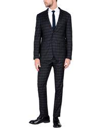 Domenico Tagliente Anzug - Mehrfarbig