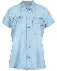 Etienne Marcel Denim Shirt - Blue