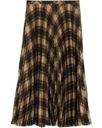 Dries Van Noten 3/4 Length Skirt - Multicolour