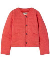 Mara Hoffman Jacket - Red