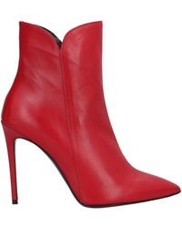Gianmarco F. Ankle Boots - Red