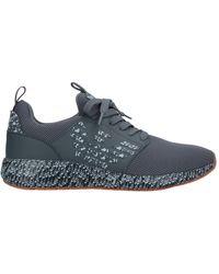 EA7 Low Sneakers & Tennisschuhe - Grau