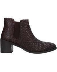 CafeNoir Ankle Boots - Brown