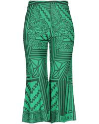 VIKI-AND 3/4-length Trousers - Green