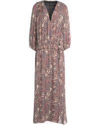 Ballantyne Long Dress - Purple