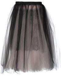 Loyd/Ford 3/4 Length Skirt - Black