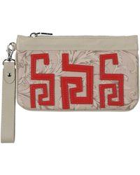 4fff0ecc8ed6 Versace E3vpbpc3 75587 401 Women s Clutch Bag In Pink in Pink - Lyst