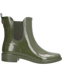 134a9851972 Lyst - Tory Burch Stormy Chelsea Rain Bootie in Green