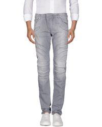 Balmain Denim Pants - Gray