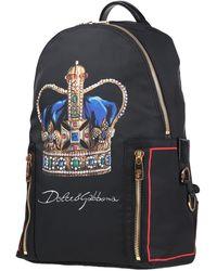 Dolce & Gabbana Rucksäcke & Bauchtaschen - Schwarz