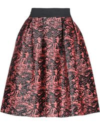 Rinascimento Falda corta - Rojo