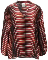 Attic And Barn Blouse - Red