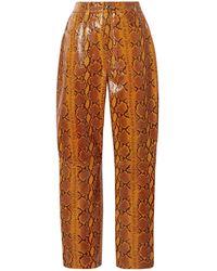 GRLFRND Pants - Orange