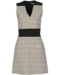 Carven Short Dress - Black