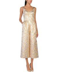 Dolce & Gabbana Jumpsuit - Metallic